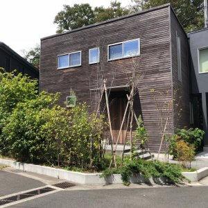 鎌倉小町のカーポートBefore