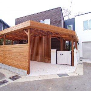 鎌倉小町のカーポートAfter