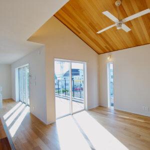 藤沢市鵠沼松が岡2丁目 4棟プロジェクト 太陽の光がよく入る1階