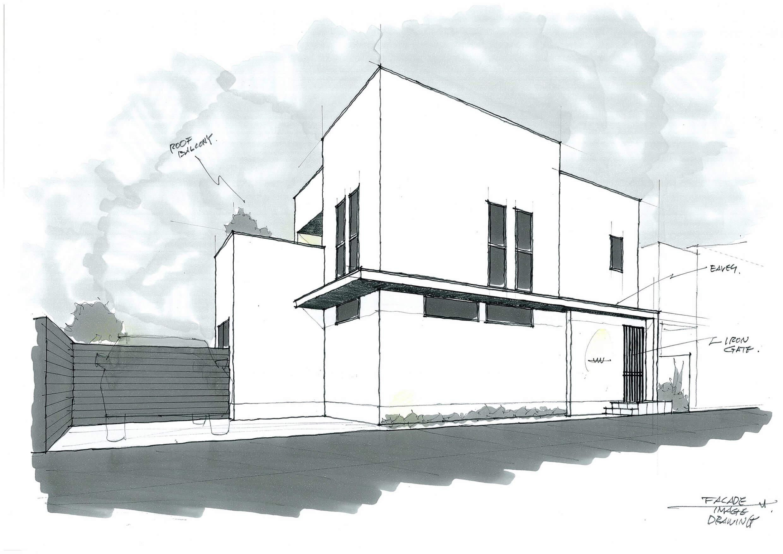 平塚の住宅-formed house