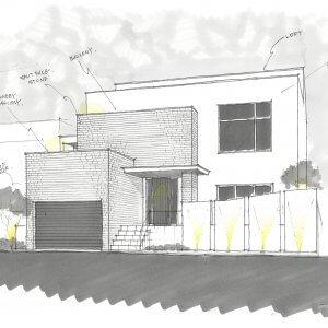 鎌倉手広の住宅-LUXURY HOUSE 外観(予定)
