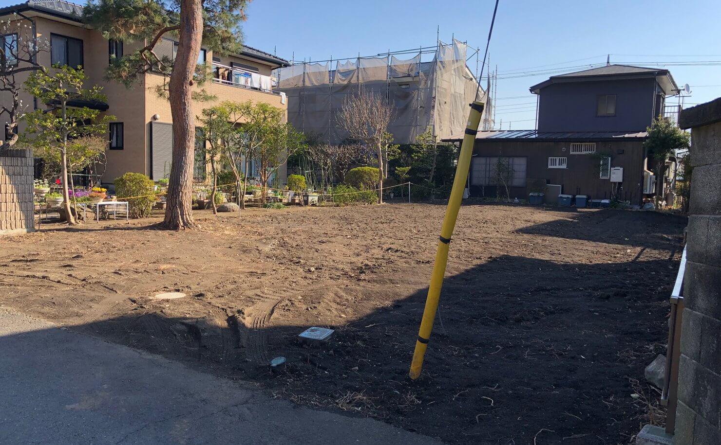 大磯の住宅-素足が似合う温もりのある家 予定地