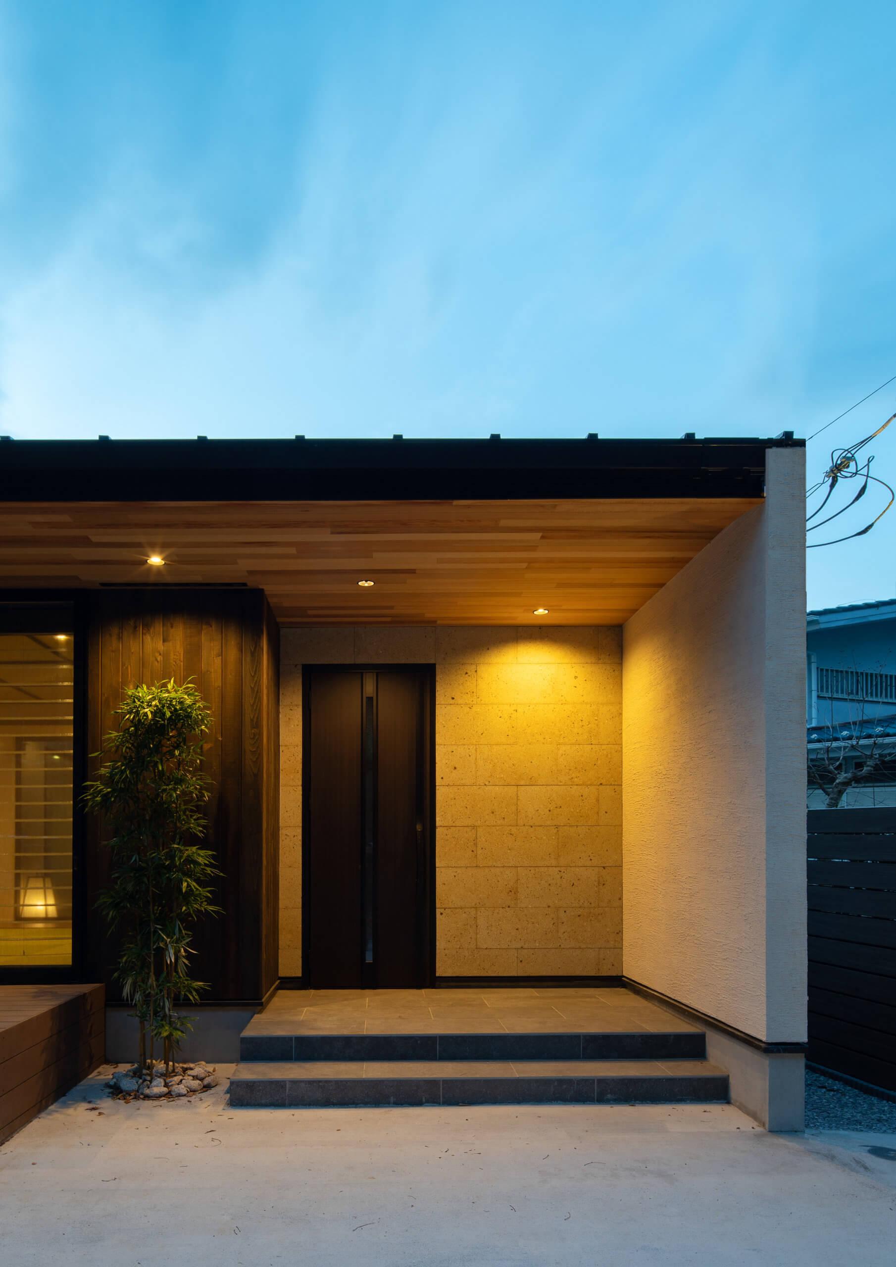 北鎌倉の住宅-山紫水明な鎌倉の緑に佇む家