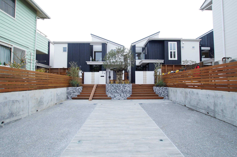 藤沢市鵠沼松が岡2丁目 4棟プロジェクト『オリーブそよぐ家』