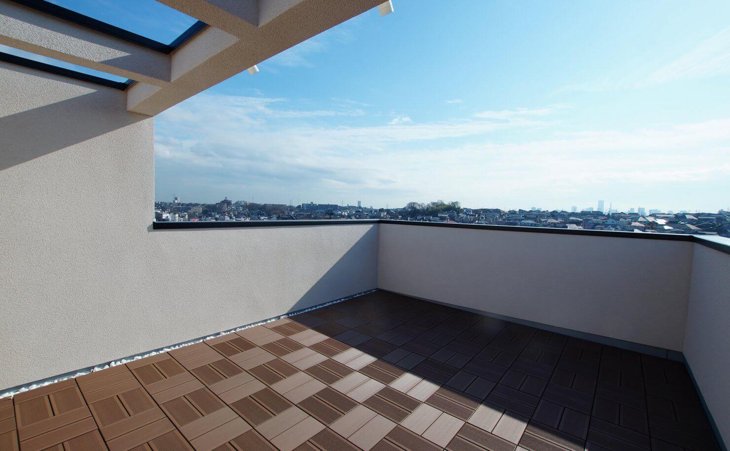 横浜市港北区篠原北2丁目プロジェクト 2Fからの眺め