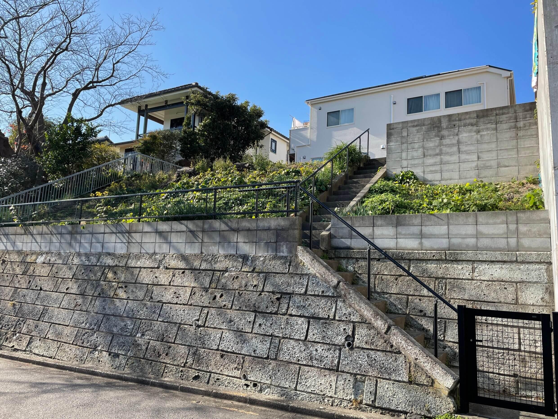 逗子小坪の高台の住宅