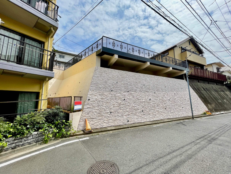 横浜三ツ沢の住宅